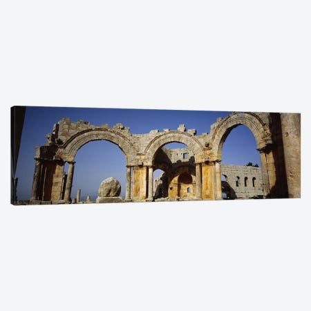 Old ruins of a church, St. Simeon Church, Aleppo, Syria Canvas Print #PIM5428} by Panoramic Images Canvas Art