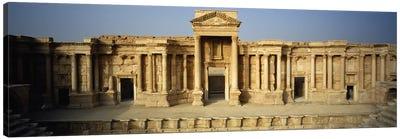 Facade of a building, Palmyra, Syria Canvas Print #PIM5435