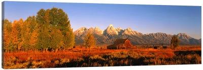 Sunrise Grand Teton National Park WY USA Canvas Print #PIM545