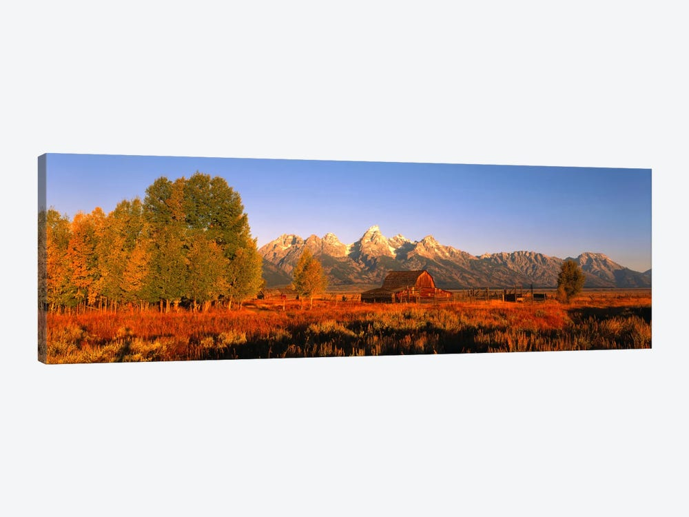 Sunrise Grand Teton National Park WY USA by Panoramic Images 1-piece Canvas Print