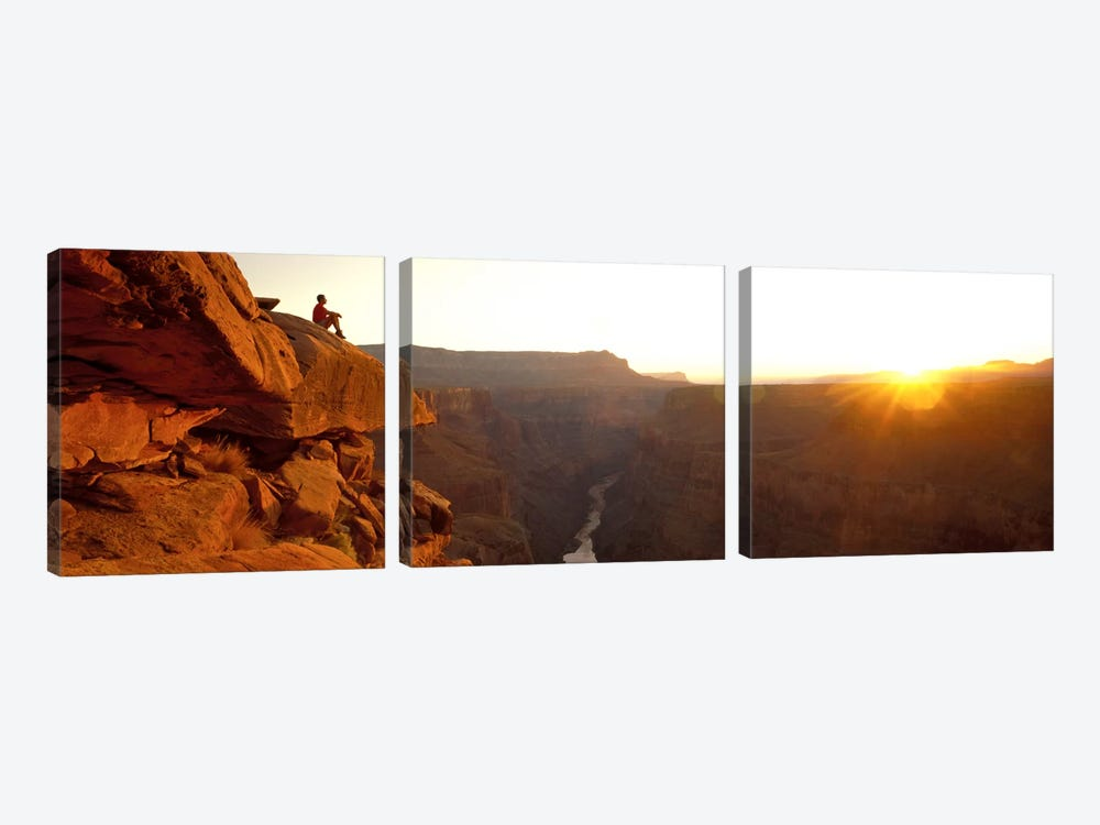 Toroweap Point Grand Canyon National Park AZ USA by Panoramic Images 3-piece Canvas Art