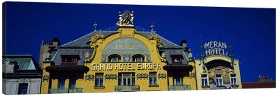 High section view of a hotel, Grand Hotel Europa, Prague, Czech Republic Canvas Print #PIM5494