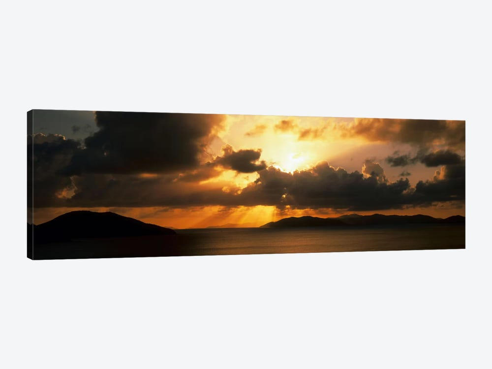 Sunset British Virgin Islands by Panoramic Images 1-piece Canvas Art Print