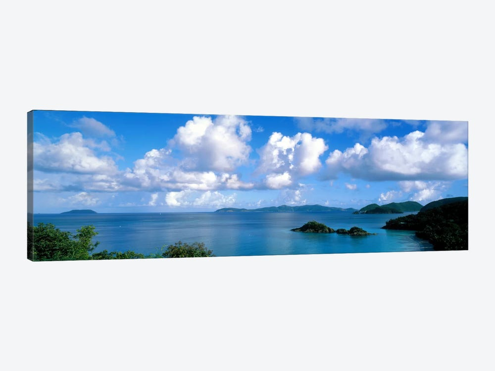 Trunk Bay St John US Virgin Islands 1-piece Canvas Art Print