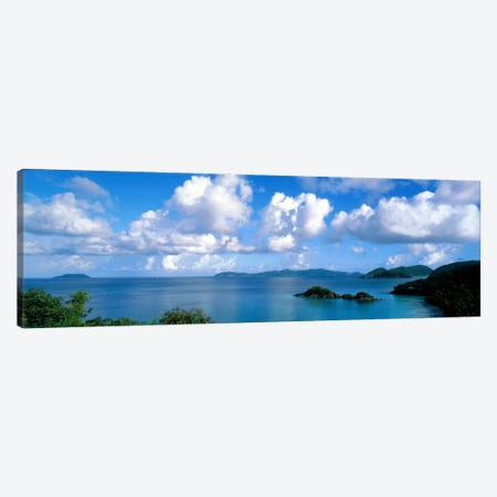 Trunk Bay St John US Virgin Islands Canvas Print #PIM550} by Panoramic Images Canvas Wall Art