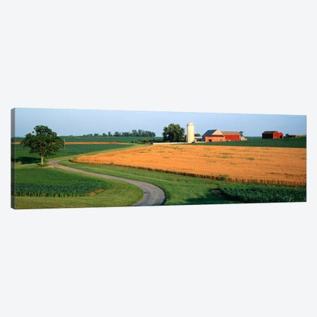 Farm nr Mountville Lancaster Co PA USA Canvas Print #PIM551} by Panoramic Images Canvas Artwork