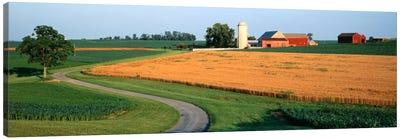 Farm nr Mountville Lancaster Co PA USA Canvas Print #PIM551