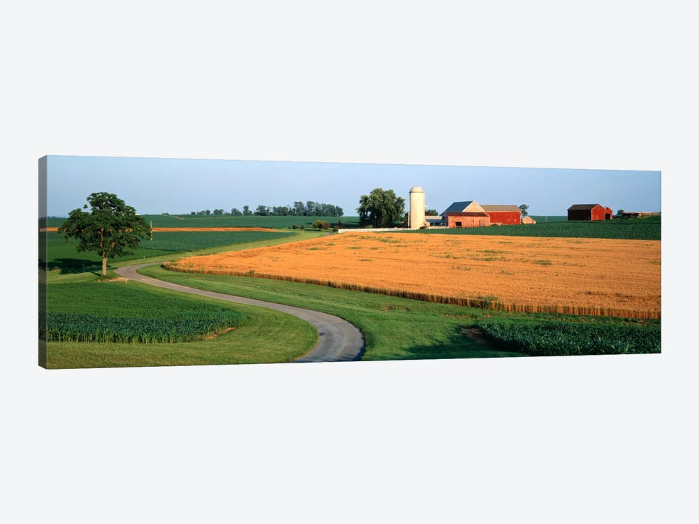Farm nr Mountville Lancaster Co PA USA by Panoramic Images 1-piece Canvas Wall Art