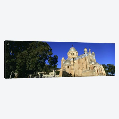 Low angle view of a church, Notre Dame D'Afrique, Algiers, Algeria Canvas Print #PIM5530} by Panoramic Images Canvas Wall Art