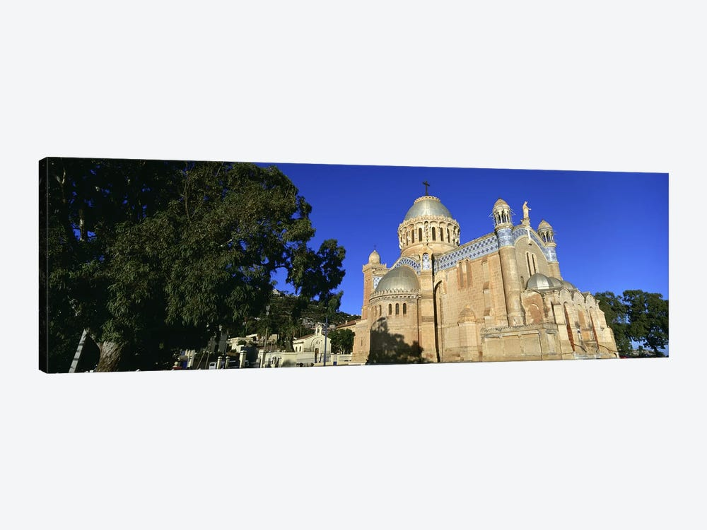 Low angle view of a church, Notre Dame D'Afrique, Algiers, Algeria by Panoramic Images 1-piece Art Print