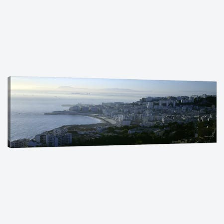 Aerial View, Bab El Oued, Algiers, Algeria Canvas Print #PIM5532} by Panoramic Images Canvas Artwork