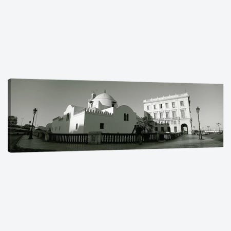 Low angle view of a mosque, Jamaa-El-Jedid, Algiers, Algeria Canvas Print #PIM5534} by Panoramic Images Art Print