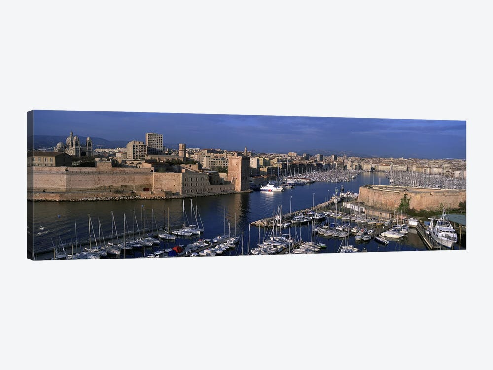 Old Port, Marseille, Provence-Alpes-Cote d'Azur, France by Panoramic Images 1-piece Canvas Print