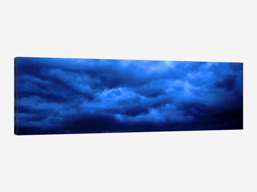 Dramatic Blue Clouds by Panoramic Images 1-piece Canvas Art