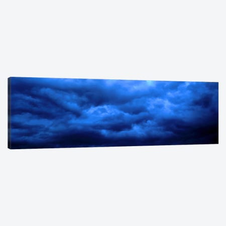 Dramatic Blue Clouds Canvas Print #PIM555} by Panoramic Images Art Print