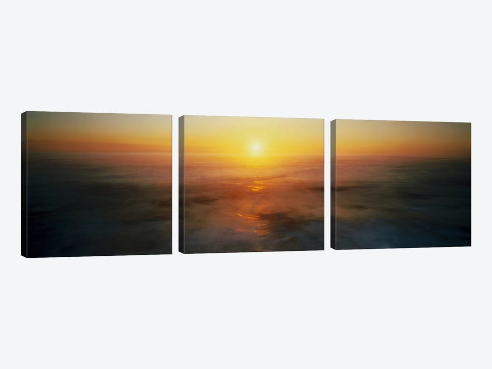 Sunset OR USA by Panoramic Images 3-piece Art Print