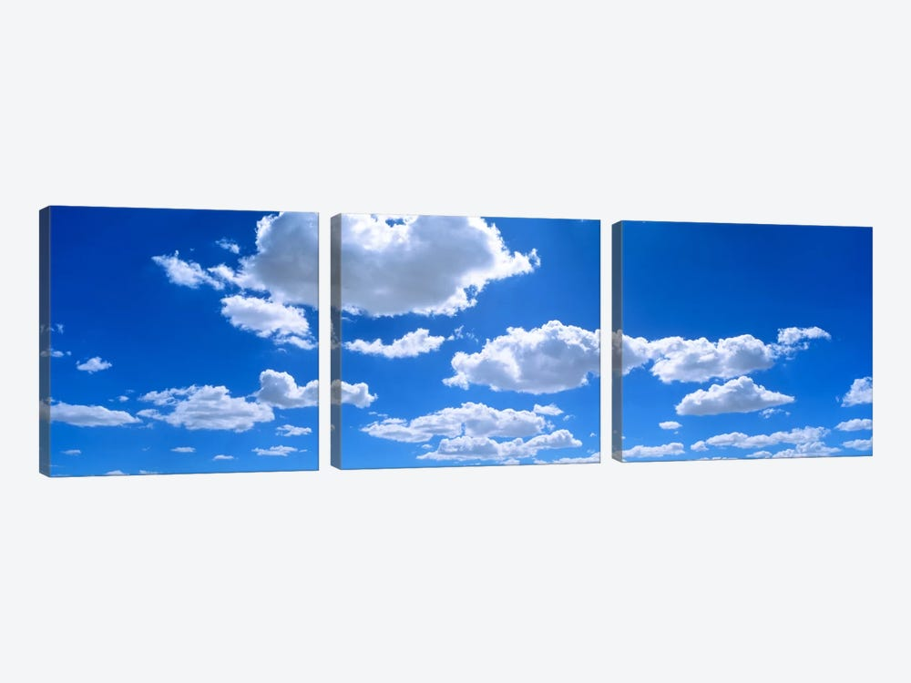 Clouds abv Navajo Reservation by Panoramic Images 3-piece Canvas Wall Art