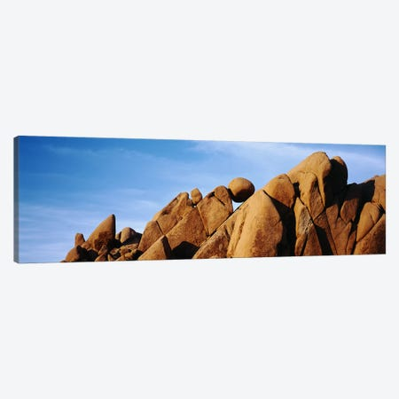 Close-up Of Giant Marbles Rock Formation, Joshua Tree National Park, California, USA Canvas Print #PIM5581} by Panoramic Images Canvas Print