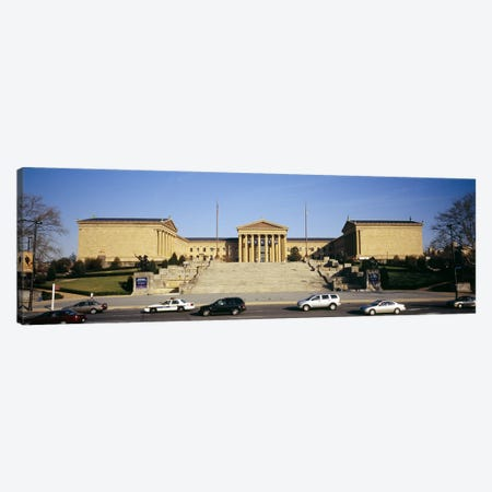 Facade of an art museum, Philadelphia Museum Of Art, Philadelphia, Pennsylvania, USA Canvas Print #PIM5586} by Panoramic Images Canvas Art