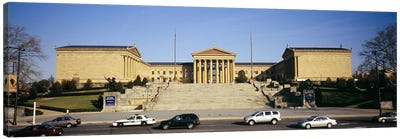 Facade of an art museum, Philadelphia Museum Of Art, Philadelphia, Pennsylvania, USA Canvas Print #PIM5586