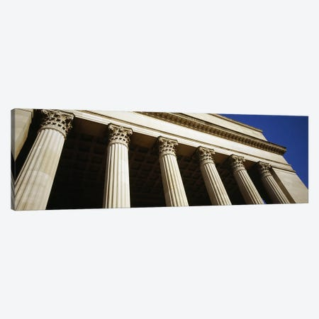Low angle view of a building, 30th Street Station, Philadelphia, Pennsylvania, USA #3 Canvas Print #PIM5589} by Panoramic Images Canvas Print