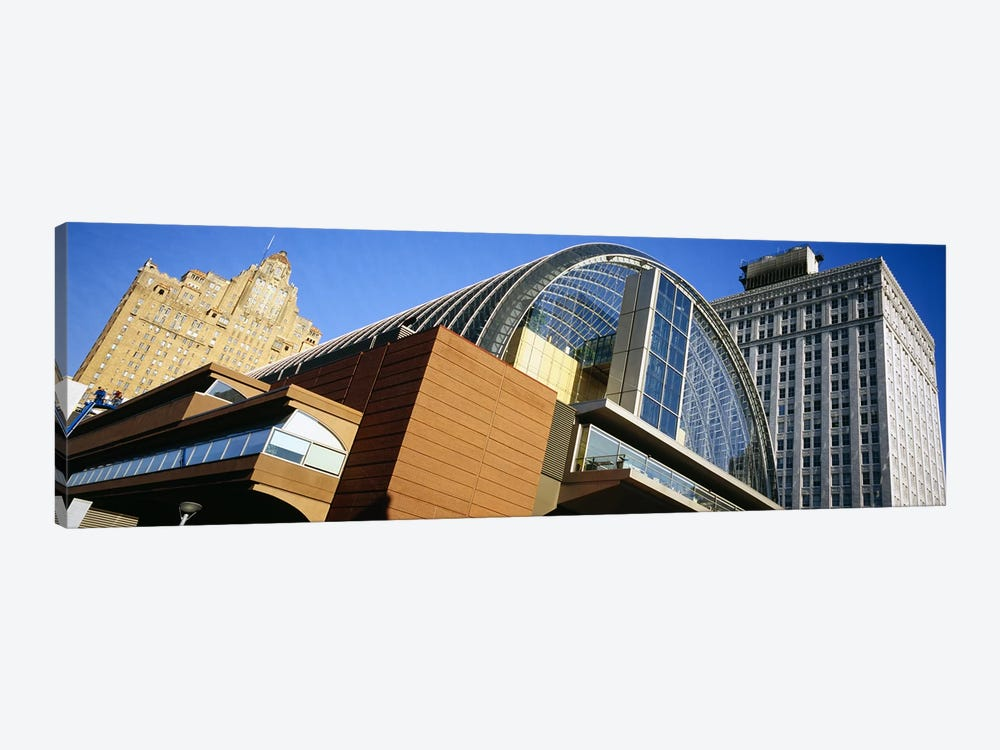 Low angle view of buildings in a city, Philadelphia, Pennsylvania, USA by Panoramic Images 1-piece Canvas Art Print