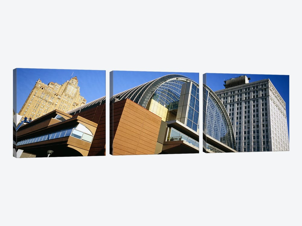 Low angle view of buildings in a city, Philadelphia, Pennsylvania, USA by Panoramic Images 3-piece Art Print