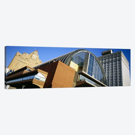 Low angle view of buildings in a city, Philadelphia, Pennsylvania, USA Canvas Print #PIM5590} by Panoramic Images Canvas Art