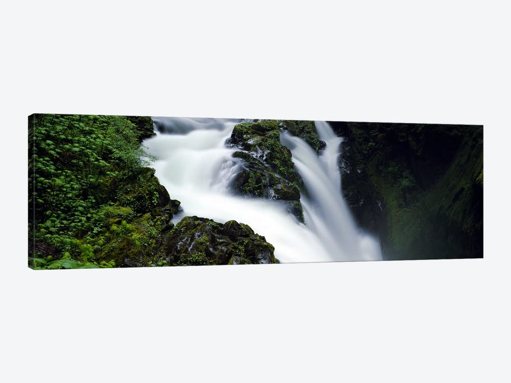High angle view of a waterfall, Sol Duc Falls, Olympic National Park, Washington State, USA by Panoramic Images 1-piece Canvas Art Print