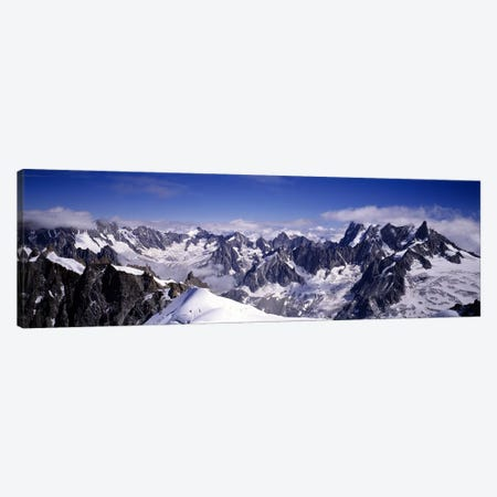 The Alps Under Snow Canvas Print #PIM5603} by Panoramic Images Canvas Artwork