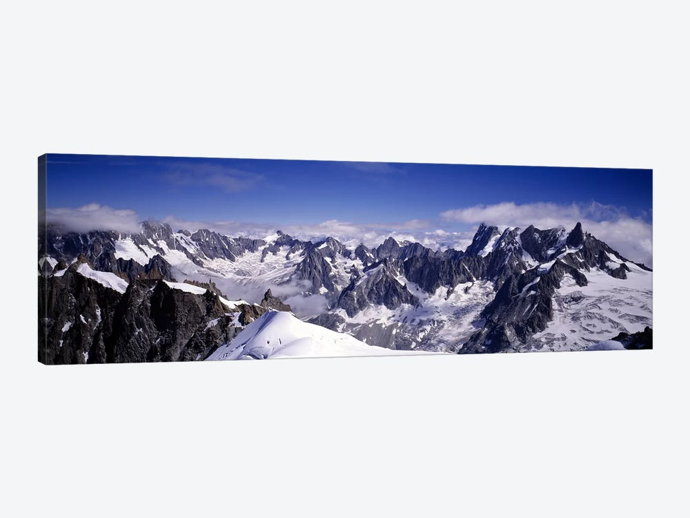 The Alps Under Snow by Panoramic Images 1-piece Canvas Print