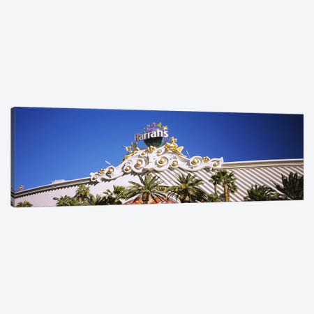Low angle view of a building, Harrah's Hotel, Las Vegas, Nevada, USA Canvas Print #PIM5607} by Panoramic Images Art Print