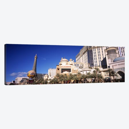 Hotel in a city, Aladdin Resort And Casino, The Strip, Las Vegas, Nevada, USA Canvas Print #PIM5612} by Panoramic Images Art Print