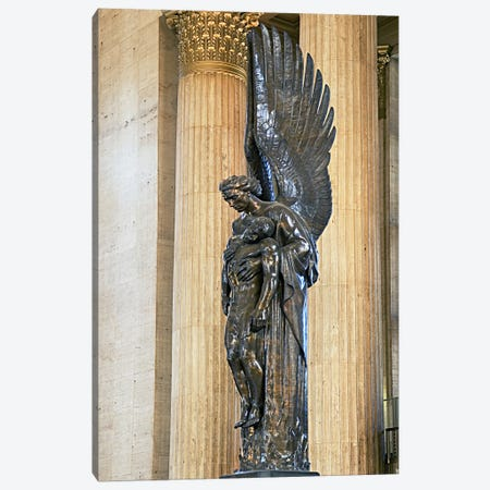 Close-up of a war memorial statue at a railroad station, 30th Street Station, Philadelphia, Pennsylvania, USA Canvas Print #PIM5629} by Panoramic Images Canvas Wall Art