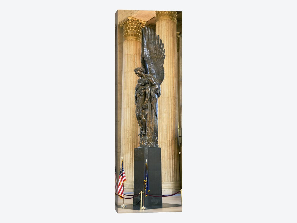 War memorial at a railroad station, 30th Street Station, Philadelphia, Pennsylvania, USA by Panoramic Images 1-piece Canvas Art Print
