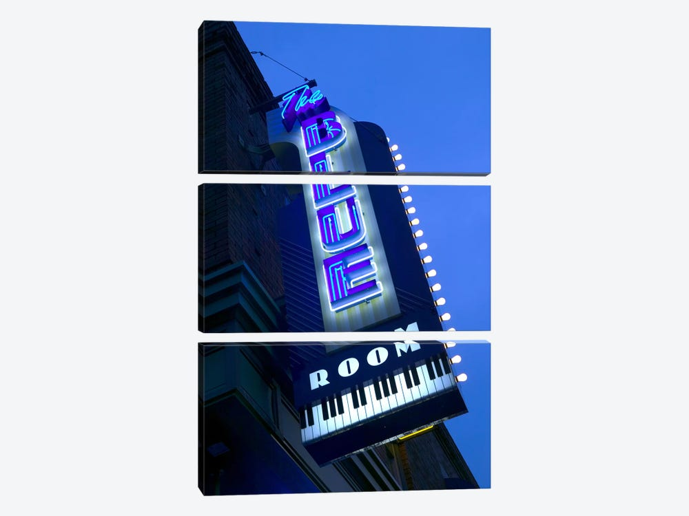 The Blue Room Jazz Club, 18th & Vine Historic Jazz District, Kansas City, Missouri, USA by Panoramic Images 3-piece Canvas Art Print