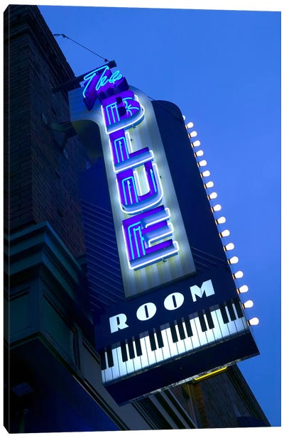 The Blue Room Jazz Club, 18th & Vine Historic Jazz District, Kansas City, Missouri, USA Canvas Art Print
