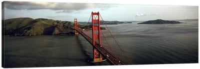 Bridge over a bay, Golden Gate Bridge, San Francisco, California, USA #2 Canvas Print #PIM5639