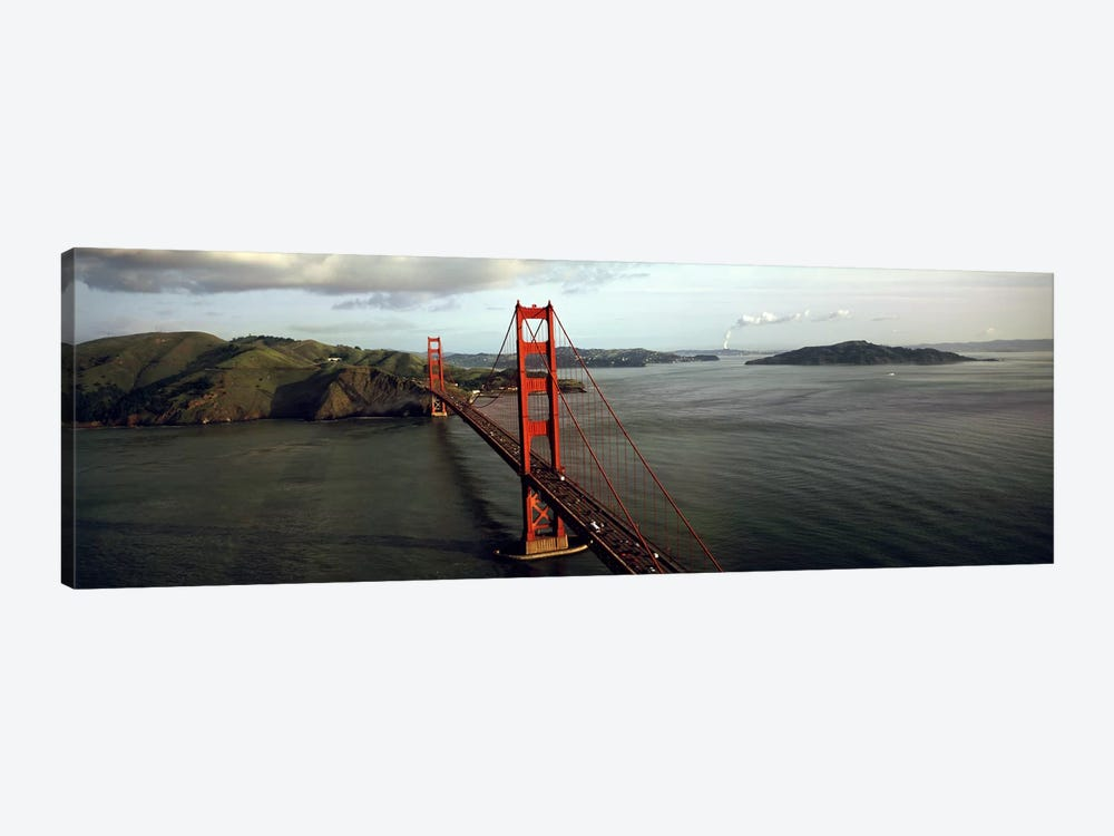 Bridge over a bay, Golden Gate Bridge, San Francisco, California, USA #2 1-piece Canvas Artwork