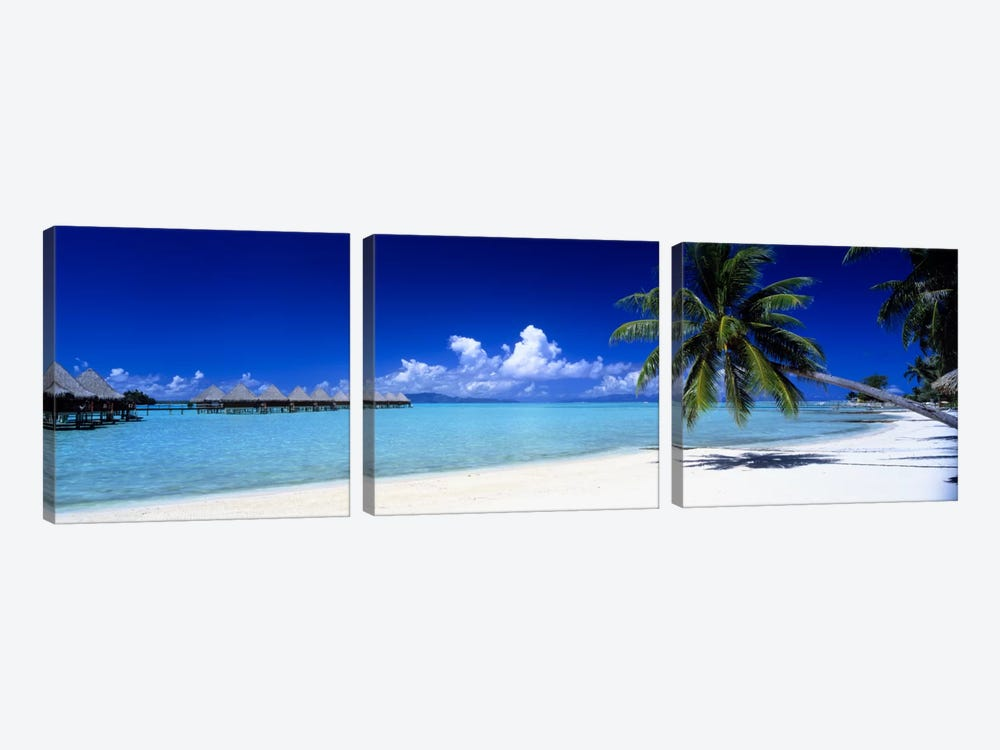 Bora Bora South Pacific by Panoramic Images 3-piece Canvas Art Print