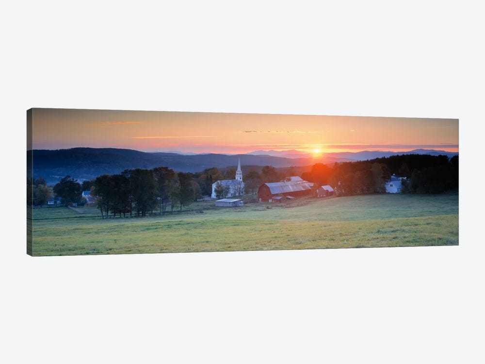 Sunrise Peacham VT USA by Panoramic Images 1-piece Canvas Art