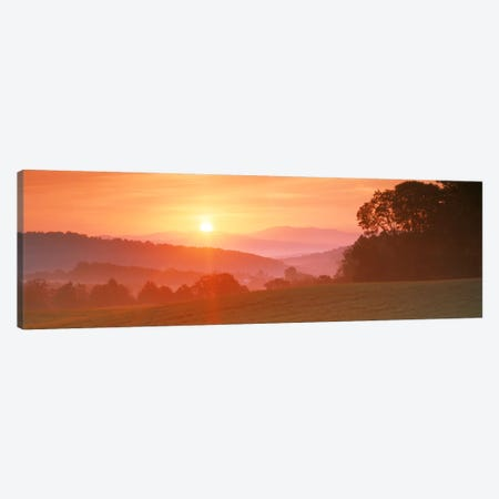 Sunrise Caledonia VT USA Canvas Print #PIM565} by Panoramic Images Canvas Artwork