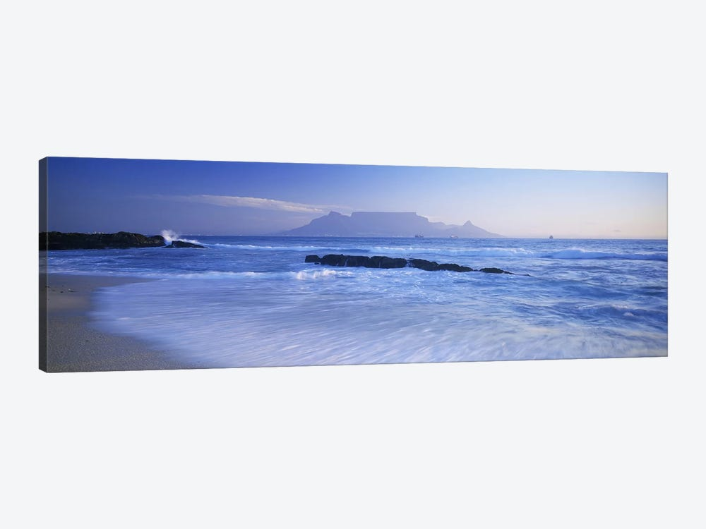 Distant View Of Table Mountain, Cape Town, Western Cape, South Africa by Panoramic Images 1-piece Canvas Wall Art