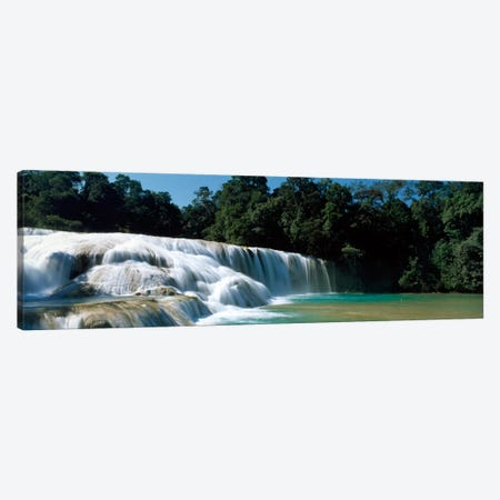 Aqua Azul Chiapas Mexico Canvas Print #PIM567} by Panoramic Images Canvas Wall Art