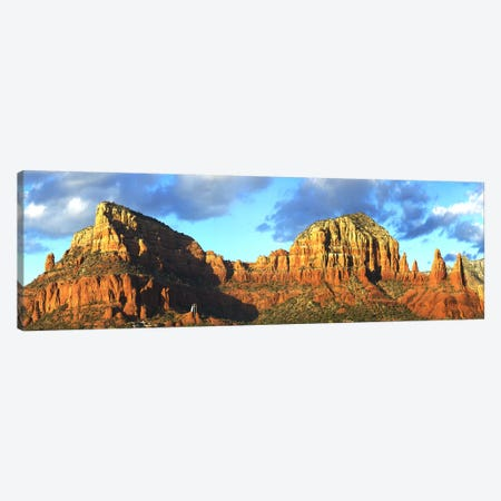 Chapel on rock formations, Chapel Of The Holy Cross, Sedona, Arizona, USA Canvas Print #PIM5690} by Panoramic Images Art Print