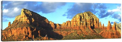 Chapel on rock formations, Chapel Of The Holy Cross, Sedona, Arizona, USA Canvas Art Print