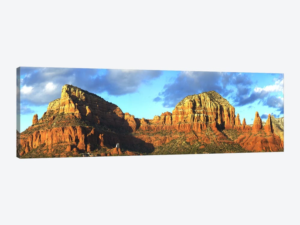 Chapel on rock formations, Chapel Of The Holy Cross, Sedona, Arizona, USA by Panoramic Images 1-piece Art Print