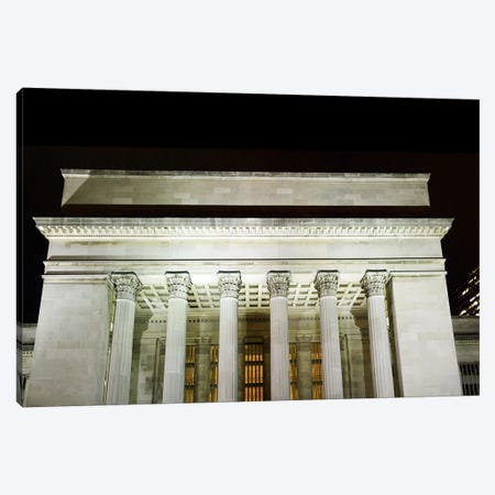 Low angle view of a building, 30th Street Station, Schuylkill River, Philadelphia, Pennsylvania, USA Canvas Print #PIM5697} by Panoramic Images Canvas Artwork