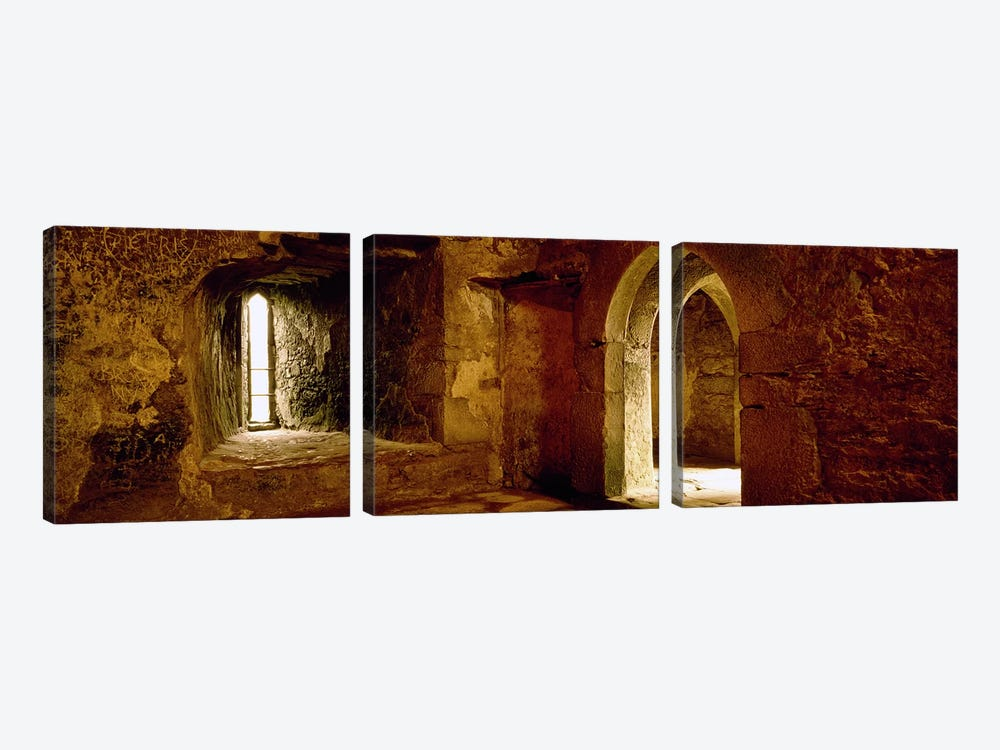 Interiors of a castle, Blarney Castle, Blarney, County Cork, Republic Of Ireland by Panoramic Images 3-piece Canvas Art