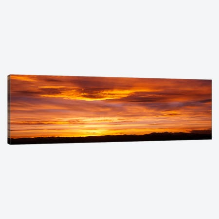Sky at sunset, Daniels Park, Denver, Colorado, USA Canvas Print #PIM571} by Panoramic Images Canvas Wall Art